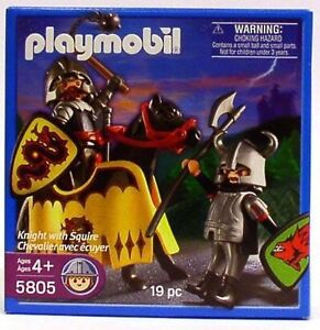 Playmobil 5805 Knight with Squire Kitchener / Waterloo Kitchener Area image 1