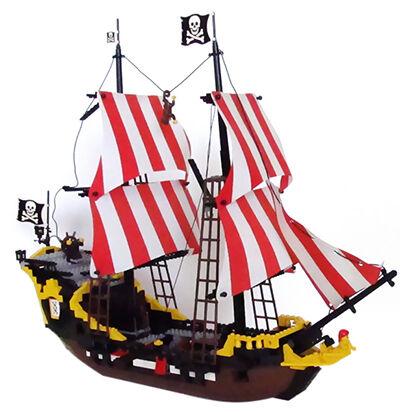 Black Seas Barracuda LEGO Set