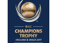 ICC Champions Trophy 2017 Tickets - India v Sri Lanka (2,4 or 6)