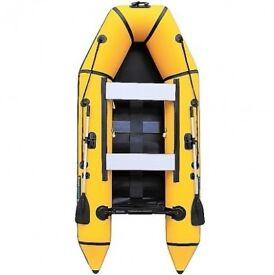 330 SL 3.3M Inflatable Dinghy / Tender with Slatted Floor, Oars, Pump