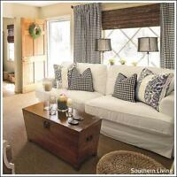 Custom Sewing for the Home:  Slipcovers, Drapes and more . . .