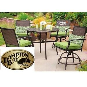 NEW HAMPTON BAY 5PC DINING SET - 130054982 - SOUTH COMMON