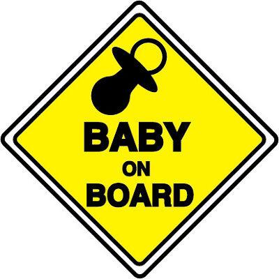 BABY ON BOARD Safety Decals Sticker Cars Window