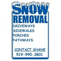 Snow Removal & Salting Windsor Area!