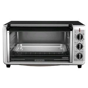 Black and Decker Toaster Oven!