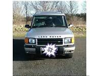 Land rover discovery TD5 2000 (W)