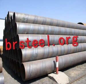 SSAW Steel Pipes Welded anti-corrosion for Building Drilling