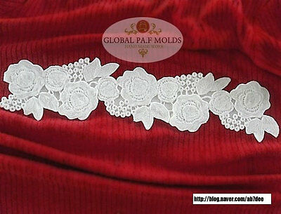 Handmade Silicone Fondant Mold/new lace mold 0968778241