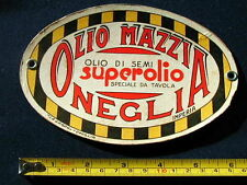1970s Italy Advertising sign cardboard OLIVE Oil SCIOLLI /& BERIO Oneglia Imperia
