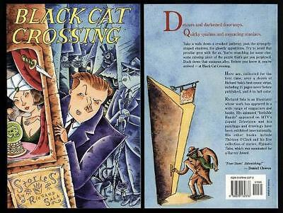 BLACK CAT CROSSING stories by Richard SALA 1993 x3 WHOL segunda mano  Embacar hacia Mexico