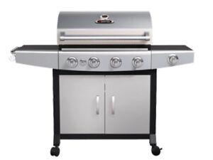 4 Burner Natural Gas Barbeque with side burner & rotisserie