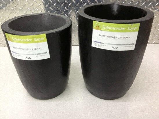 MORGAN SALAMANDER-SUPER CLAY GRAPHITE CRUCIBLE FOR MELTING A16 A20 A25