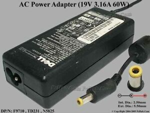 Dell AC Laptop Adapter Charger - ADP-60NH B