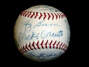 New York Yankees Team Autographed Baseball