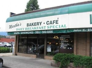 Marthas Bakery & Cafe For Sale