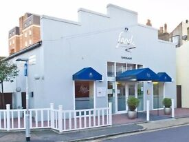Permanent chefs required at award winning restaurant Food in Worthing.