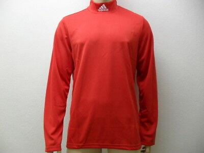 ADIDAS STAND UP Langarm Shirt Rollkragen Pullover Rolli von Gr XS bis XXXL  rot - Adidas Langarm Rollkragen