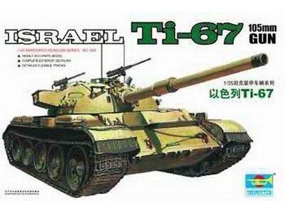 Trumpeter 9360339 Israelischer Kampfpanzer Ti-67 1:35 Fahrzeug Modellbausatz