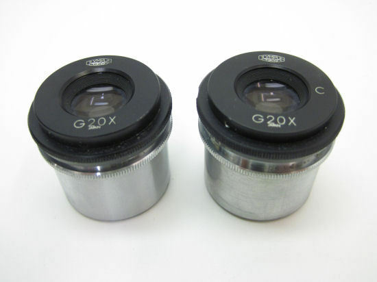 Olympus G20X & G20X C Microscope Eyepieces