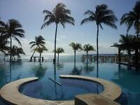 GORGEOUS 3 BDRM MAYAN RIVIERA CONDO- USD EXCHANGE 1.15