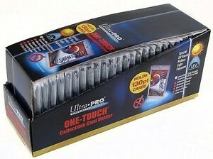 25-ULTRA-PRO-ONE-TOUCH-MAGNETIC-THICK-HOLDERS-MIX-AND-MATCH-35-55-75-100-130-PT