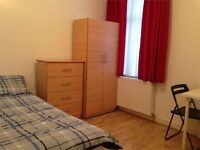 Fully Furnished, Large Double Room / Located In The Heart Of East London, E7 / Avail 7th Oct