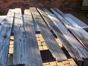 ISO Old Fence Boards