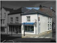 Retail Shop / Offices / room to let, Haverfordwest Town Centre with free street parking.