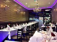 Waiter/Waitress, Kitchen Porter, Delivery Driver and Indian/Tandoori Chef Modern Indian restaurant