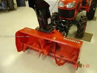 Kubota snowblower !!!