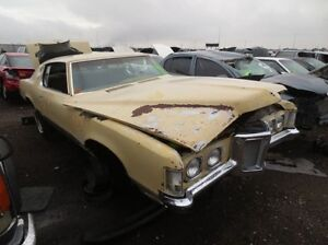 Pontiac Grand Prix project or parts car 1969 1970 1971 1972