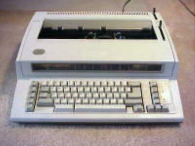 Refurb Ibm Wheelwriter Personal 2 Typewriter W120 Days Warranty