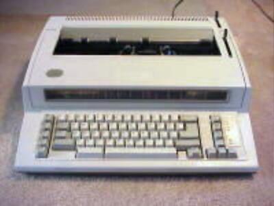 Refurb Ibm Wheelwriter Personal 2 Typewriter W120 Days Warranty