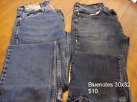 MEN'S / BOYS JEANS  **GREAT PRICE AT $10 FOR TWO PAIRS**