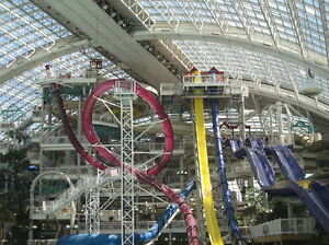 West edmonton mall attraction pass. galaxyland . waterpark