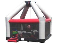 2012 Airquee demolition zone and other bouncy castles for sale.