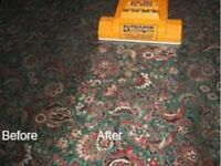 PROFESSIONAL CARPET CLEANING THREE ROOMS £45 FIXED PRICE