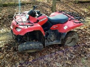 Cash paid for sleds and atvs needing repair or tlc