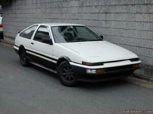 Looking for Toyota AE86 Sprinter!! No rust buckets!