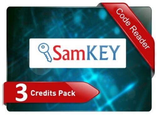 SAMKEY Code Reader SERVER 3 CREDITS Pack   !!Fast Service!!