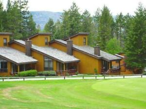 Fairmont BC - Mountainside Villas in July.  2 Bdrm on golf cours