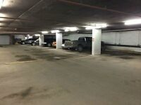 Secure Heated Under Ground Parking Downtown Eau Claire
