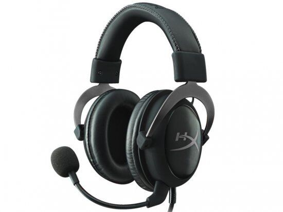 HyperX Cloud Pro Gaming Headset - Silver - with In-Line