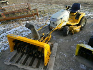 2185 Cub Cadet with snow blower and deck mower