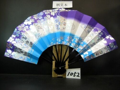 JAPANESE SENSU FAN ODORI  Cherry Blossoms 28.8cm KYOTO MADE IN JAPAN (1052)