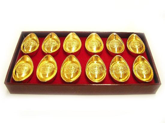 Box of 12 PCS of Brass Ingots