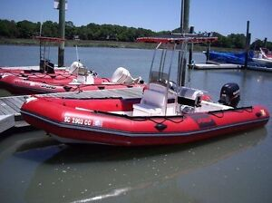 Looking for an inflatable boat with 20 + motor