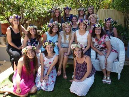 Party services - Flower crown workshops