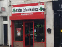 Restaurant opportunity - fully established - Lebanese Cuisine