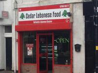 Restaurant opportunity - fully established - Lebanese Cuisine